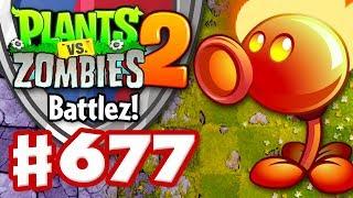 Battlez! Fire Peashooter Epic Quest! - Plants vs. Zombies 2 - Gameplay Walkthrough Part 677