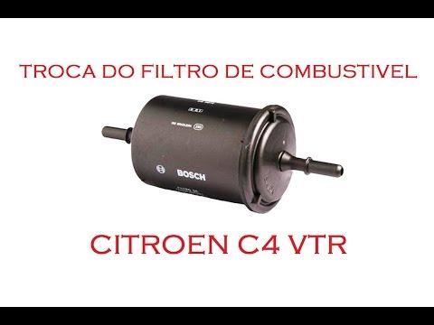 Troca do Filtro de Combustível - Citroen C4