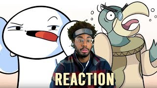 """TheOdd1sOut """"The Netflix Series That Was Also Scary for Adult James"""" Reaction"""