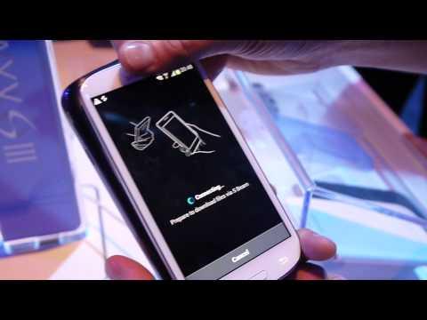 Galaxy S III: S Beam demo