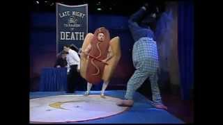 Late Night Tournament Of Death Gaseous Weiner Vs Upside Down Guy