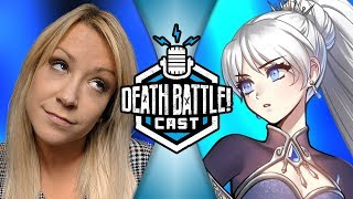 Weiss' actress responds! | DEATH BATTLE Cast #132