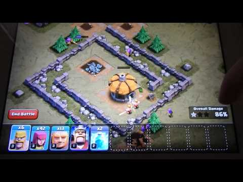 How To Destroy Rat Valley (clash Of Clans)