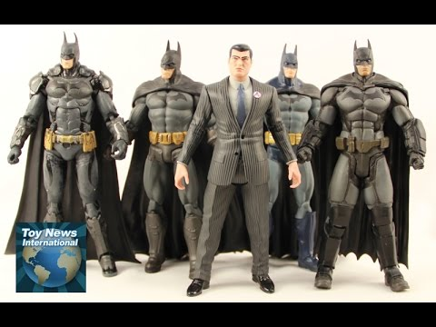 "DC Collectibles 7"" Batman: Arkham Video Game Figure Boxset Review"
