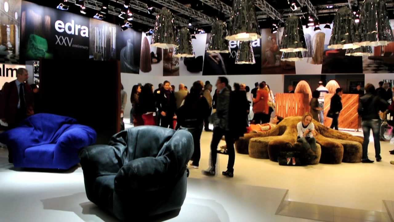 Edra salone del mobile 2012 youtube - Fiera del mobile bologna ...