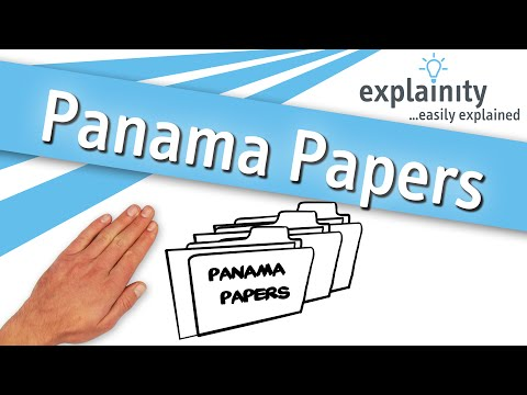 Panama Papers explained (explainity® explainer video)