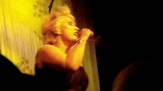 "DEBORAH HARRY (BLONDIE) with ""You're Too Hot"" live in LA"