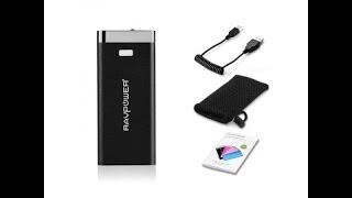 The Best External Battery for Smartphones? Ravpower Power Bank External Battery Review