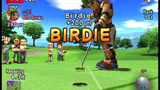 Hot Shots Golf Fore -20 on ADVANCED MODE