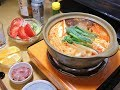 【昨日の】キムチ鍋 豚タンのスモーク【晩酌】 の動画、YouTube動画。