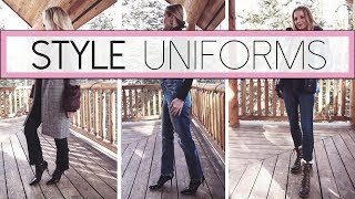 My Style Uniforms   4 Casual Outfit Ideas