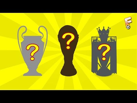 Can You Guess These 30 Trophies From Their Silhouttes? ( Football Quiz )
