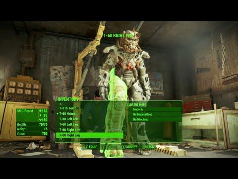 КАК ЗАРЯДИТЬ СИЛОВУЮ БРОНЮ Fallout 4