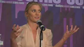 Katee Sackhoff & Jamie Bamber (BSG) Panel - Dallas Fan Days 2013 - Women in Hollywood