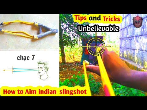 How To Aim Indian Tube Slingshot|bushcraft | Tamil Hunting |Catapult|Slingshot Hunting |hunting