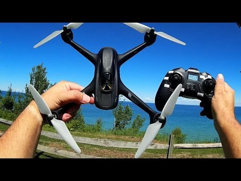 Hubsan H501C GPS Camera Drone Flight Test Review