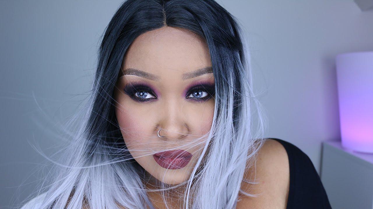 Burgundy Magenta Ready For Fall Makeup Makeupbynamaisa Youtube