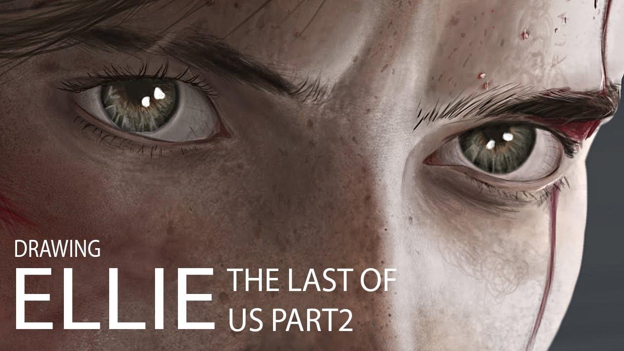 Digital Art Desenho Digital Ellie The Last Of Us Part 2