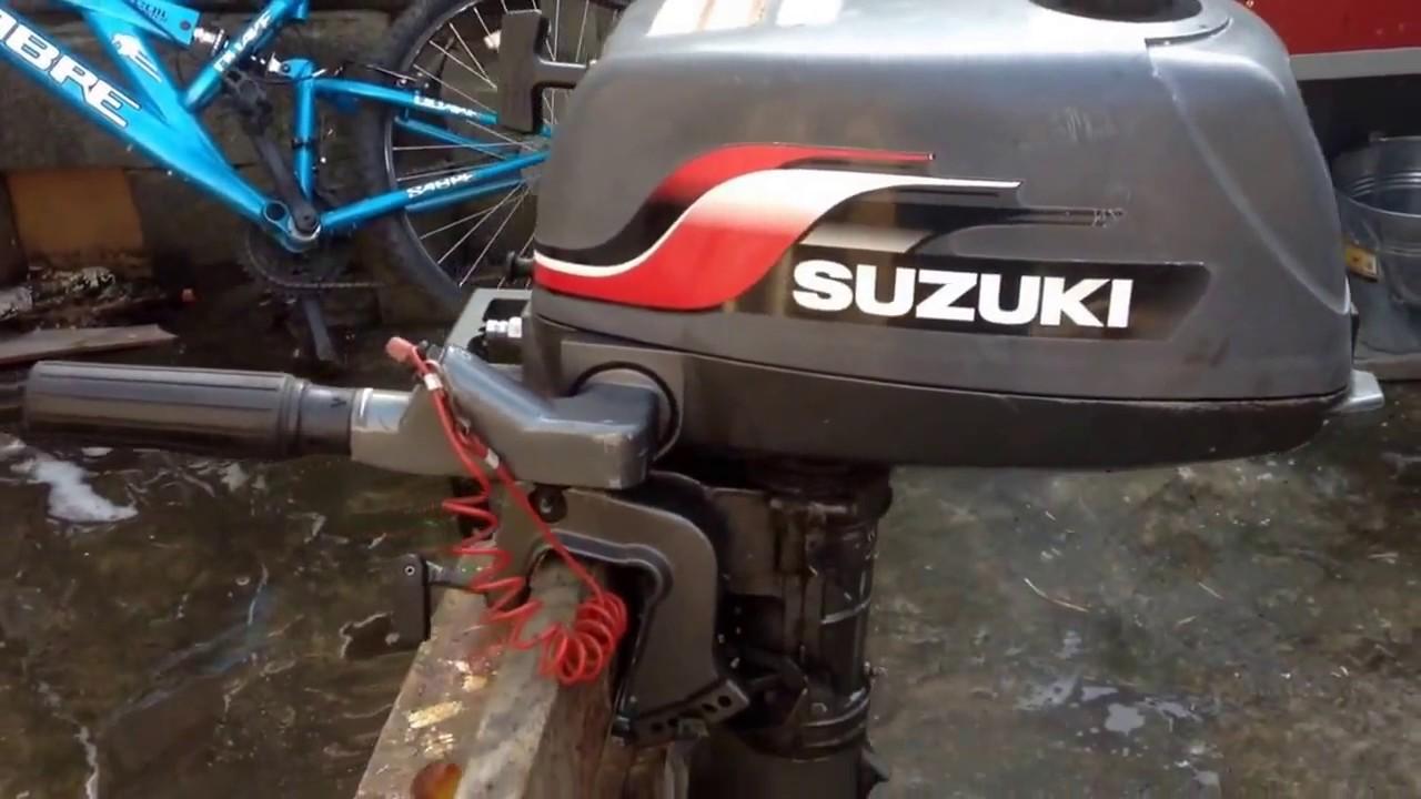 Suzuki 4hp 2 stroke outboard