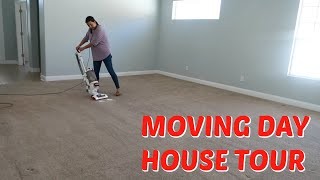 MOVING VLOG TO THE NEW HOUSE! EMPTY HOUSE TOUR! EMMA AND ELLIE