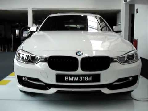 new 2012 bmw f30 318d youtube. Black Bedroom Furniture Sets. Home Design Ideas