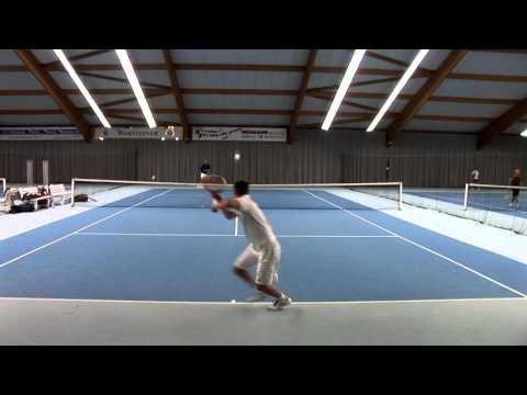 Tennis Training - Paul Haase - College Tennis Recruiting Video Fall 2016