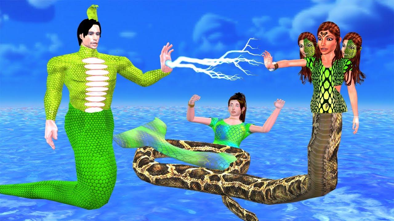 नागिन चुड़ैल और सुपर नागराज - Chudail aur Nagraaj Story हिंदी कहानिय Hindi Kahaniya magical stories