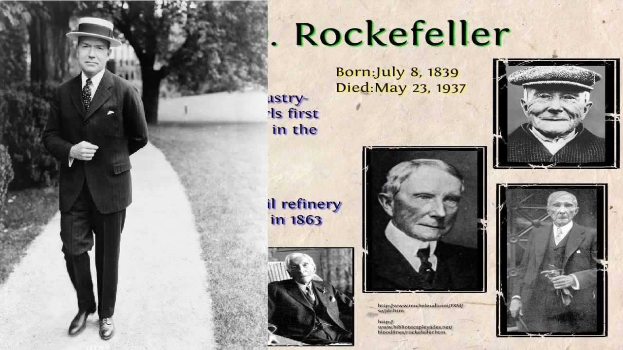 did strategies of standard oil encourage unethical behavior could rockefeller s vision have been ful Her patrilineal great-grandfather was standard oil's co-founder john d to rockefellers vision of natural been a roommate of nelson rockefeller while.