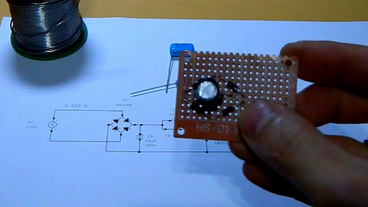 Circuit For The 40 Led Cluster 55w Youtube Here Is Schematic Of My Version And A Picture