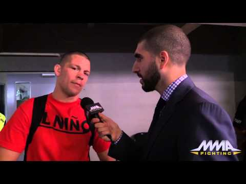 UFC 188: Nate Diaz Says Eddie Alvarez Didn't Win Fight 'at All'