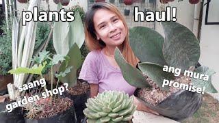 PLANTS HAUL AT BULACAN GARDEN SHOP! || Sobrang Mura At Pwede Pang Tumawad!