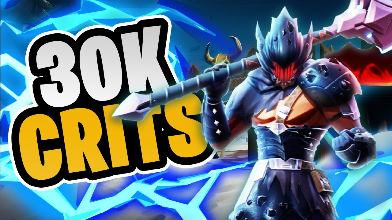 The Best Frost Escalation Axe Build Dauntless Meta Builds Youtube