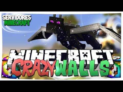 SERVIDOR CRAZY WALLS NO PREMIUM | Dragon Escape, Lucky Island, TnT Tag, Egg Wars, Build Battle, etc