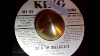 Sonny Thompson Lost love in this great big city KING Demo