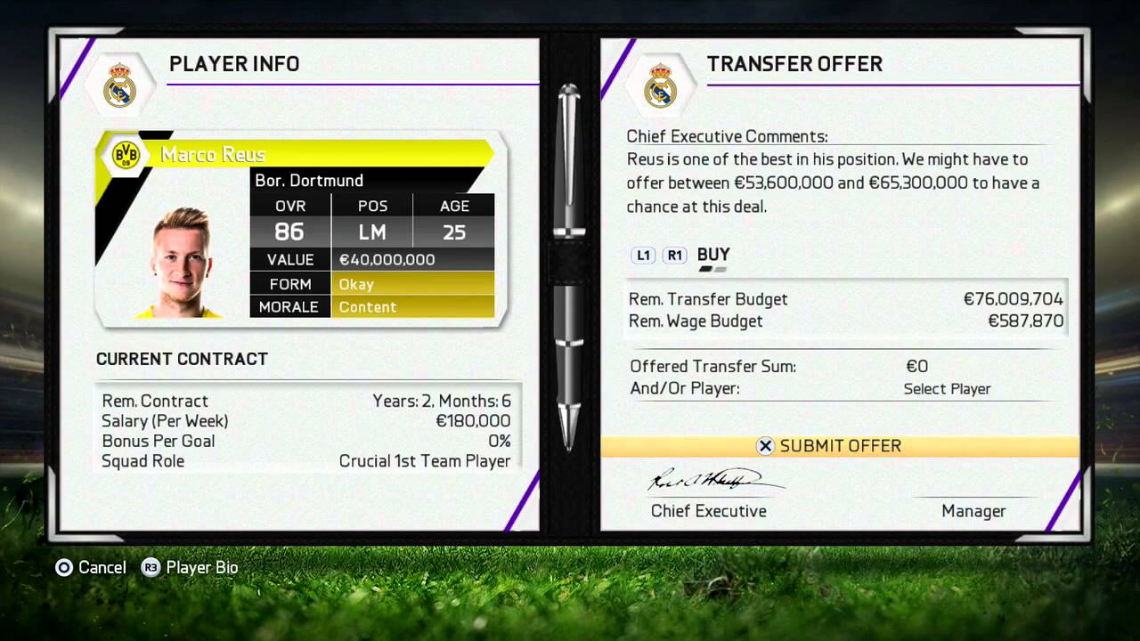 fifa career mode tutorial transfer offer glitch buy any fifa 15 career mode tutorial transfer offer glitch buy any player for