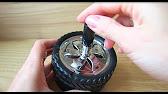 Пепельница автоматическая с кожаными вставками - A24Mag.ru - YouTube