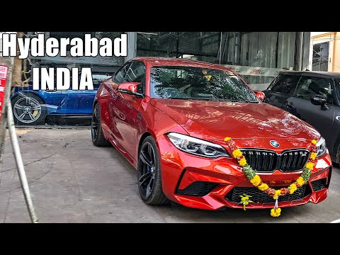 Richest Streets Of Hyderabad - Weird & Cool Cars in Jubilee Hills