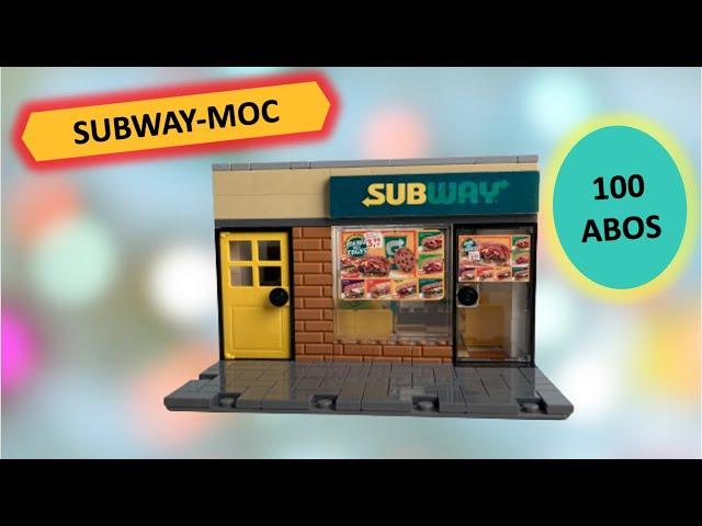 Subway Modular Moc - 100 Abo Special - Brick Town 7