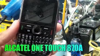 HARD RESET A CELULARES BASICOS ALCATEL SIN PC / ONE TOUCH 870A /2017/Jesus Rodriguez V791