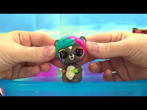 LOL Surprise Doll Furry Pets Makeover Series 5 Color Change Remove Fur!
