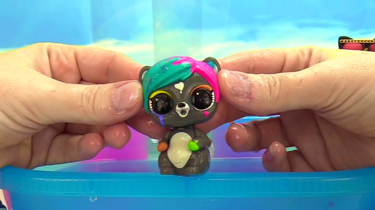 Lol Surprise Doll Furry Pets Makeover Series 5 Color