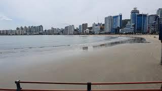 부산광역시 수영구 광안리해수욕장 모습