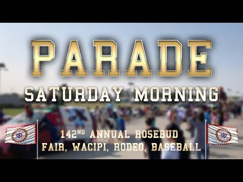 Rosebud Fair Parade (8.25.18)