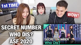 JINI'S FIRST TIME WATCHING SECRET NUMBER, Who Dis? (시크릿넘버, Who Dis?) [2020 ASIA SONG FESTIVAL] | WOW