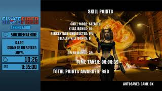D.I.R.T.: Origin of the Species (Any%) in 30:45 by SuicideMachine - Shots Fired: Annihilation