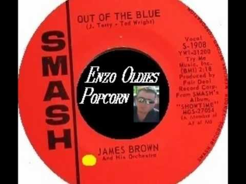 Enzo Soul Popcorn-JAMES BROWN-OUT OF THE BLUE - (SMASH)