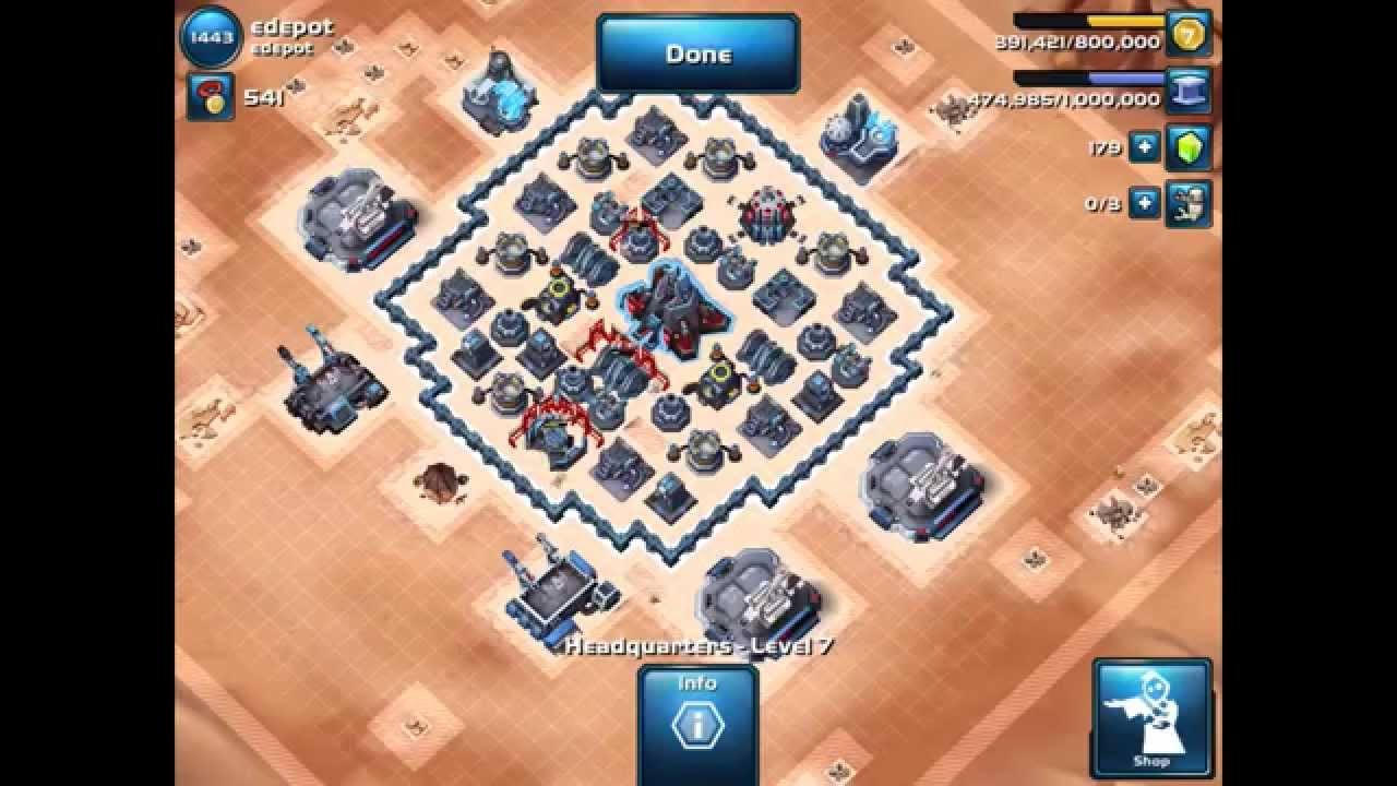 Here are 3 more defenses for our Level 6,7,8 Rebel friends plus my baby base layout which works well against Level 6,7,8 and sometimes 9 Level Imperial attackers.