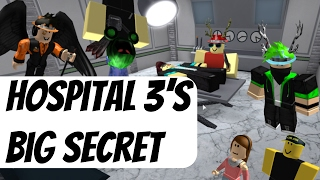 How Hospital 3 Changes Everything (Nikilis Murder Theory) - Roblox