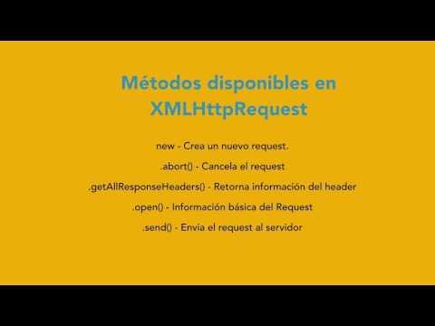 Qué es XMLHttpRequest en AJAX y como funciona
