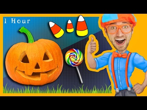 Thumbnail: 1 Hour of Nursery Rhymes Compilation with Blippi | Halloween Songs for Kids and More